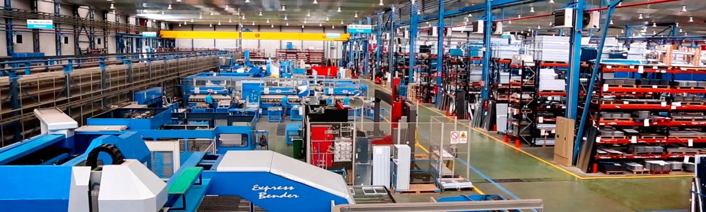 Infrico robots-fabrica